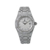 Audemars Piguet Royal Oak Lady 67650ST 33MM White Dial With 11.75 CT Diamonds