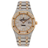 Audemars Piguet Royal Oak 15400SR Two Tone Diamond Watch