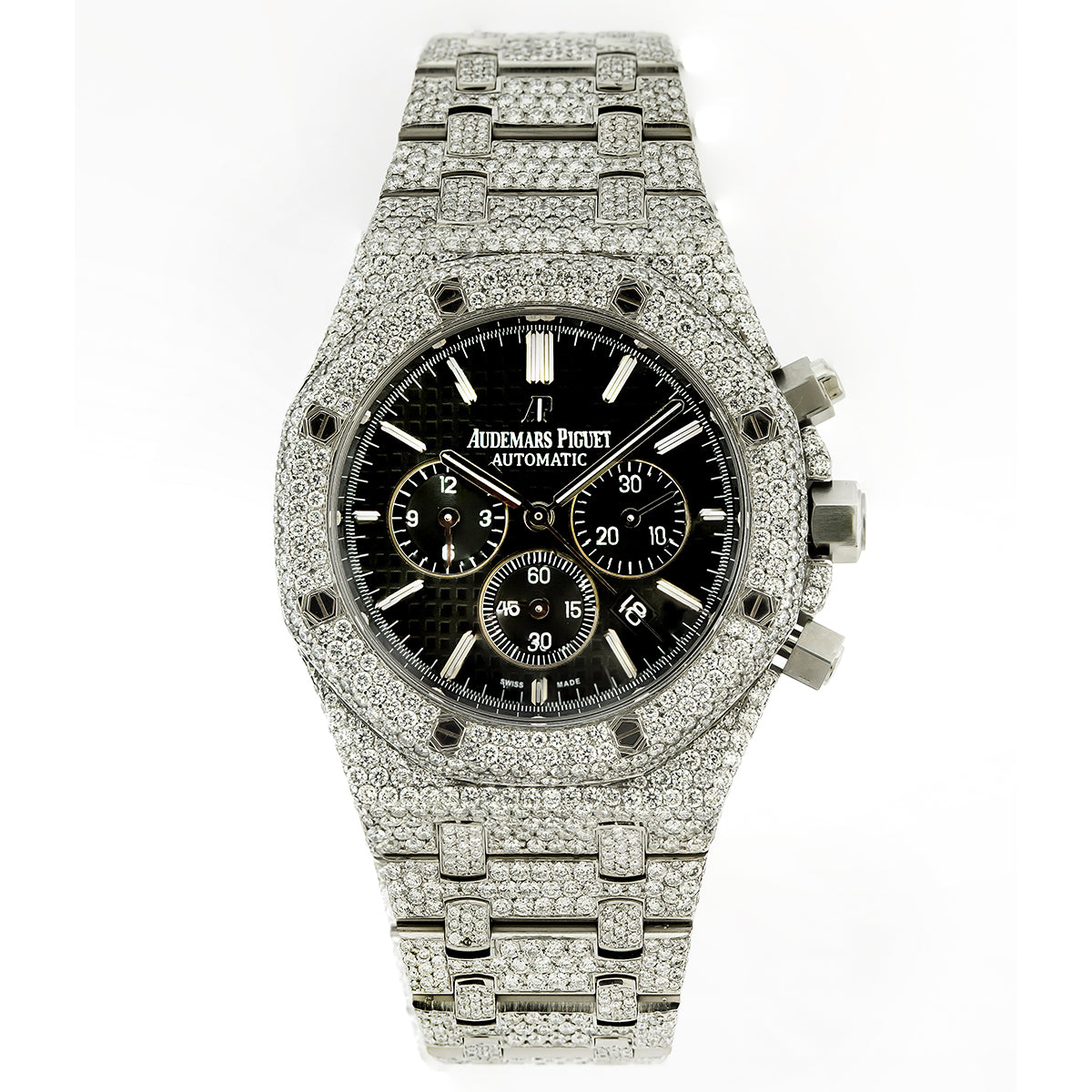 bc0ef7ae68f0d Audemars Piguet Royal Oak Chronograph 26331ST 41mm Black Dial With 23. -  OMI Jewelry