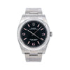 Rolex Oyster Perpetual 116000 36MM Black Dial With Stainless Steel Oyster Bracelet