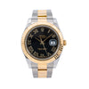 Rolex Datejust II 116333 41MM Black Dial Two Tone Oyster Bracelet
