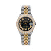 Rolex Datejust 26MM Black Diamond Dial Jubilee Diamond Bracelet With 10.2 Carat Diamonds