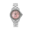 Rolex 26mm Pink Diamond Dial With Stainless Steel Bracelet