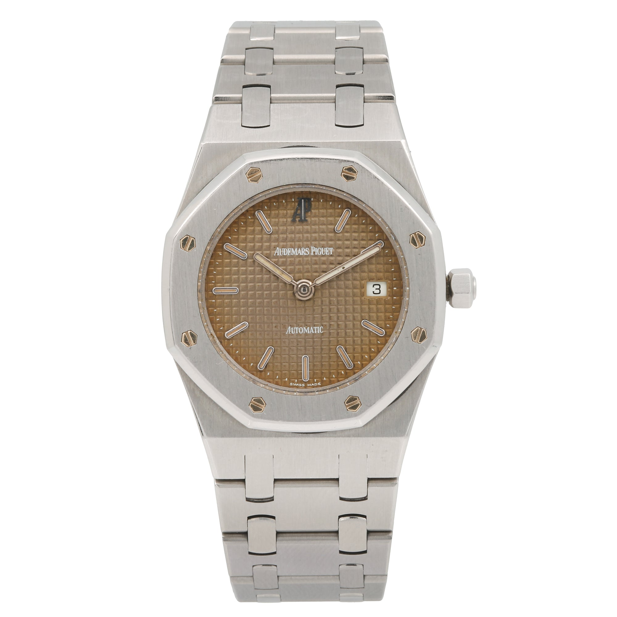 Audemars Piguet Royal Oak 56175TT 33MM Brown Dial With Stainless Steel Bracelet