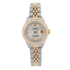 Rolex Datejust 26MM Grey Diamond Dial Jubilee Two Tone Bracelet With 2.5 Carat Diamonds
