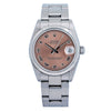 Rolex Datejust 78240 31MM Brown Dial With Stainless Steel Oyster Bracelet