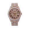 Rolex Day-Date 228235 40MM Rose Gold Diamond Dial With 2.25 CT Diamonds