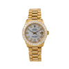 Rolex Datejust 6827 31MM Silver Diamond Dial With 2.25 CT Diamonds