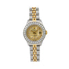 Rolex Datejust 69173 26MM Champagne Diamond Dial With Two Tone Jubilee Bracelet