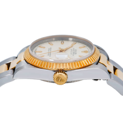 Rolex Lady-Datejust 68240 31MM Champagne Dial With Two Tone Oyster Bracelet