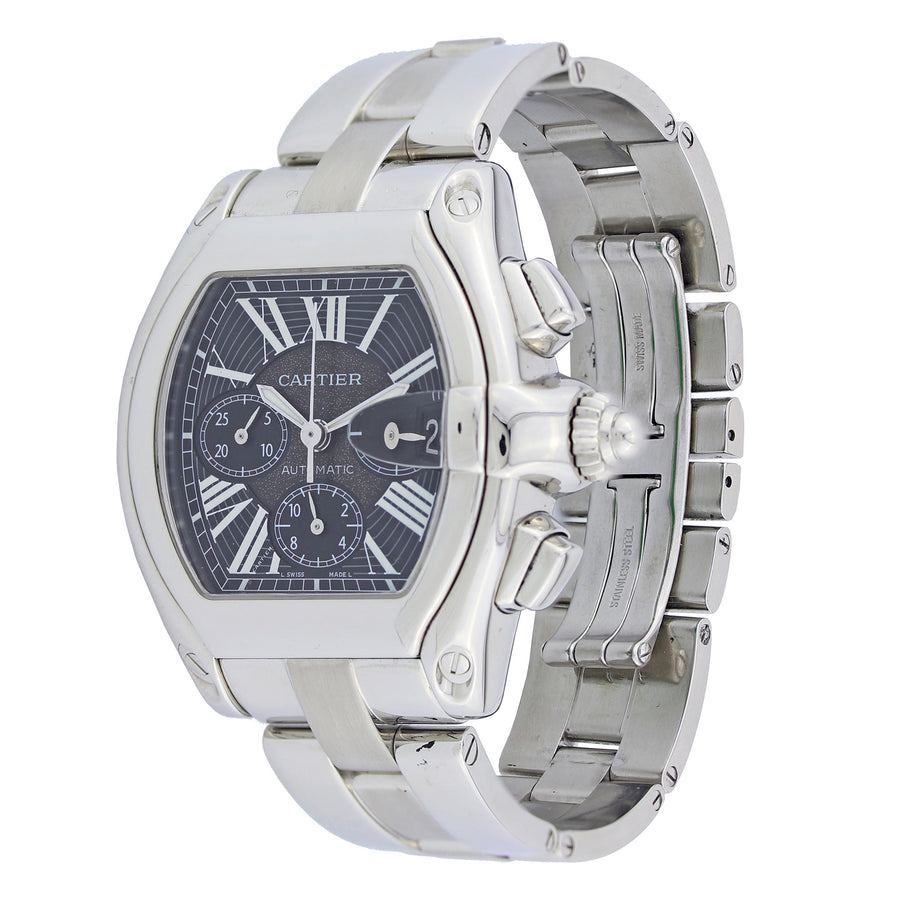 Cartier Roadster 48Mm Stainless Steel W62020X6