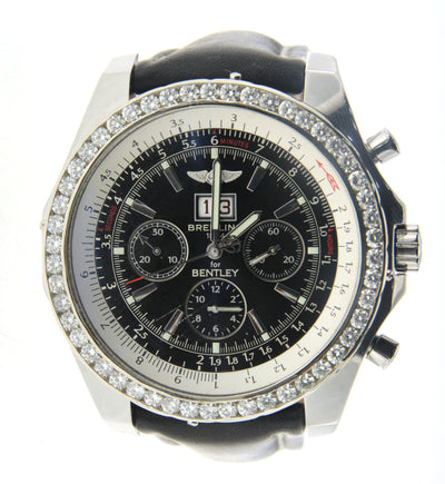 Breitling Bentley with Diamond Bezel