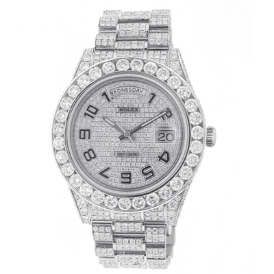 Rolex Day Date II 41MM White Gold with Diamonds