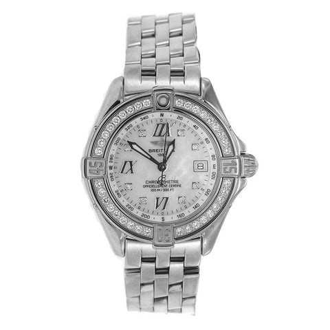 Stainless Steel Breitling Cockpit Lady