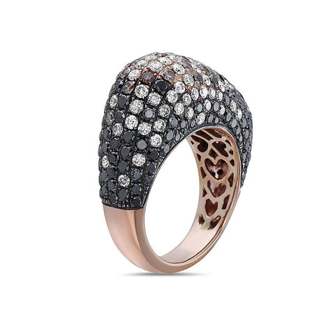 Ladies 18k Rose Gold With 5.21 CT Right Hand Ring