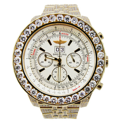 Breitling for Bentley Special Edition 18K Yellow Gold 48mm