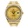 Rolex Day Date II 18K Yellow Gold with Original Diamond Dial & Bezel 41mm