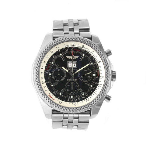 Breitling Bentley Motors Stainless Steel 6.75 Speed 48.7MM