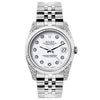 Rolex Datejust Diamond Watch, 26mm, Stainless SteelBracelet Rolex White Dial w/ Diamond Lugs