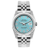 Rolex Datejust 26mm Stainless Steel Bracelet Blue Rays Dial w/ Diamond Lugs