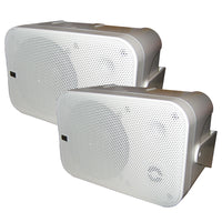 Poly-Planar Box Speakers - (Pair) White [MA9060W]
