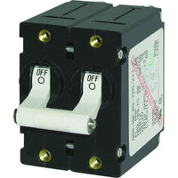 Blue Sea 7260 A-Series Double Pole Toggle - 20AMP - White [7260]