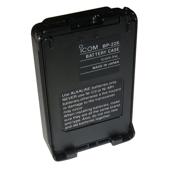 Icom Alkaline Battery Case f-M88 [BP226]