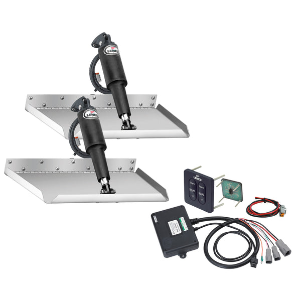 "Lenco 12"" x 18"" Edgemount Kit w-Standard Tactile Switch Kit 12V [TT12X18E]"