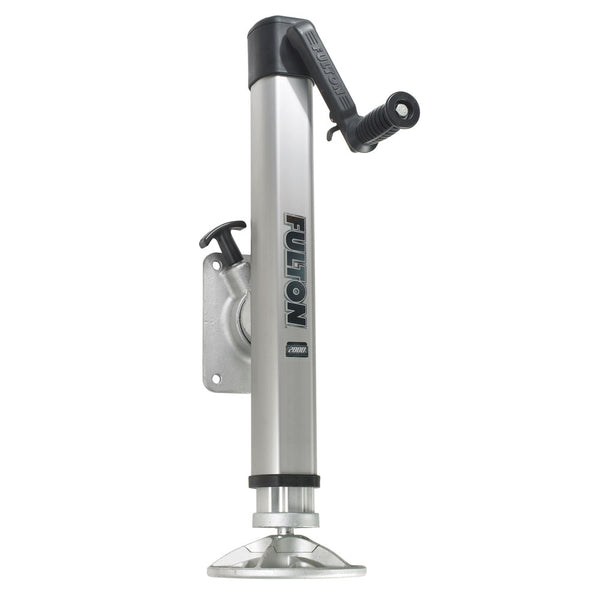 Fulton F2 Trailer Jack Bolt-On 2,000 lbs. Lift Capacity Adjustable Swivel w-Footplate [1413230134]