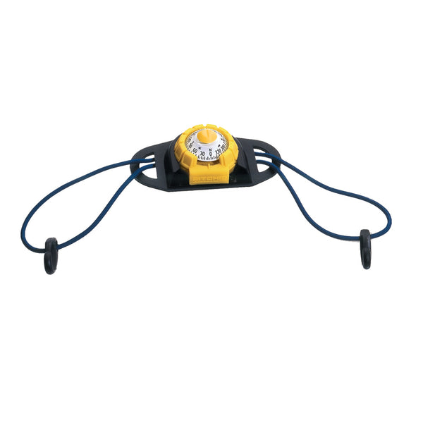 Ritchie X-11Y-TD SportAbout Compass w-Kayak Tie-Down Holder - Yellow-Black [X-11Y-TD]