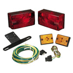 "Wesbar Submersible Over 80"" Taillight Kit w-Sidemarkers [407515]"