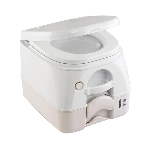 Dometic - SeaLand 974MSD Portable Toilet 2.6 Gallon - Tan w-Brackets [301197402]