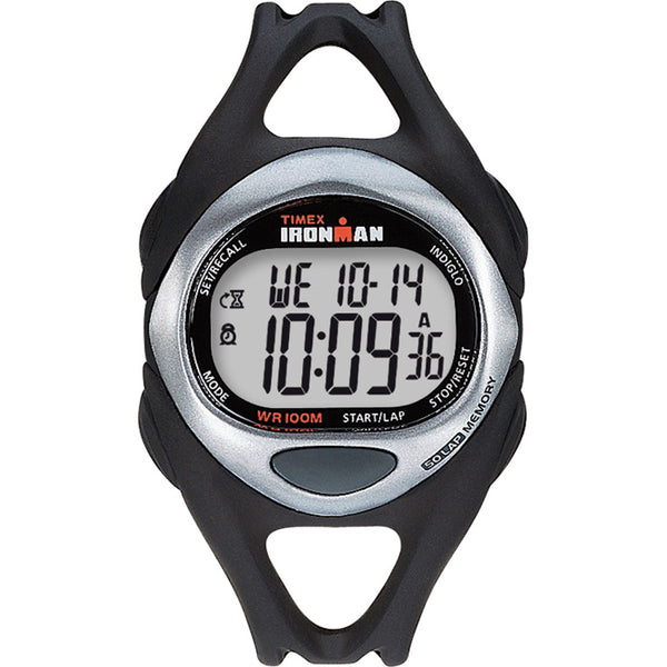 Timex Ironman Triathlon 50 Lap Full Size Black-Stainless [T54281]