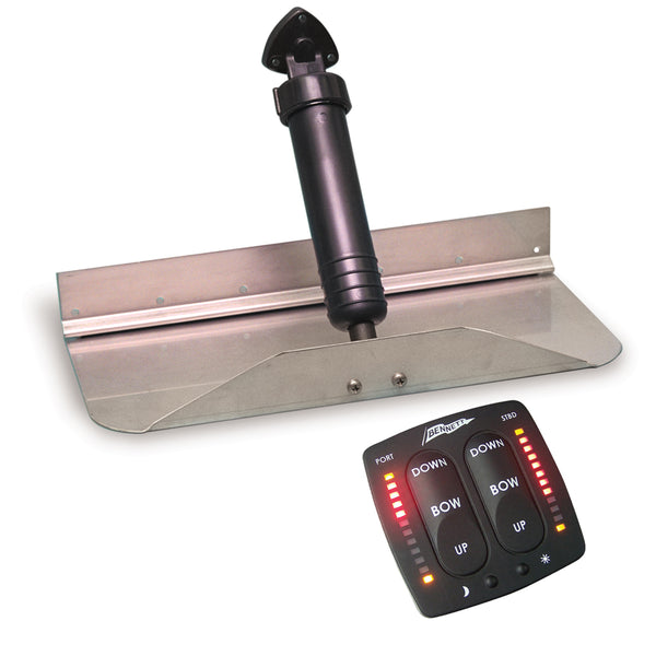 "Bennett Trim Tab Kit 12"" x 9"" w-EIC Switch [129EIC]"
