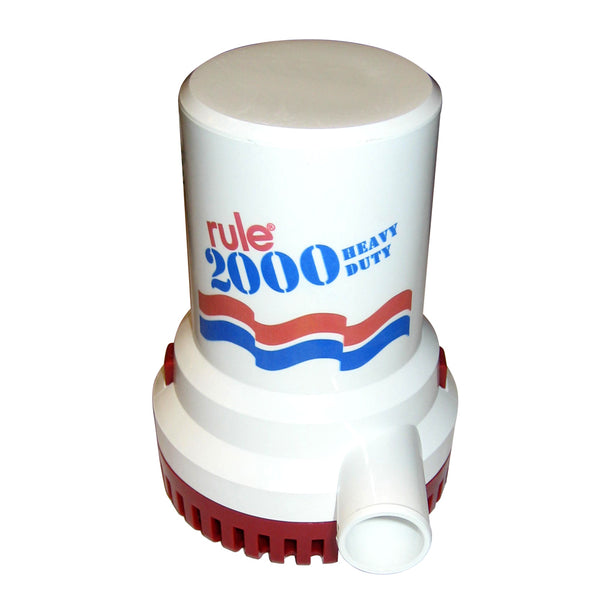 Rule 2000 G.P.H. Non-Automatic Bilge Pump - 24V [12]