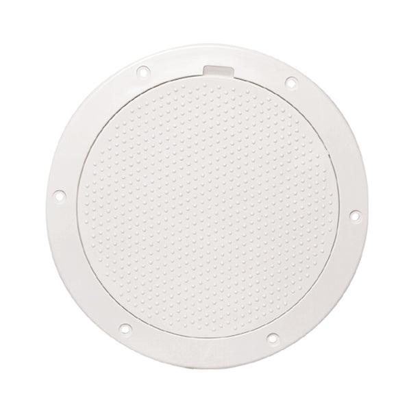 "Beckson 6"" Non-Skid Pry-Out Deck Plate - White [DP63-W]"