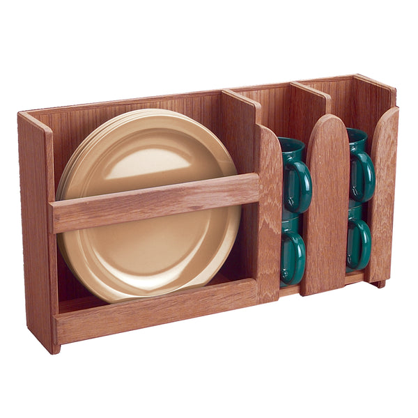 Whitecap Teak Dish-Cup Holder [62406]