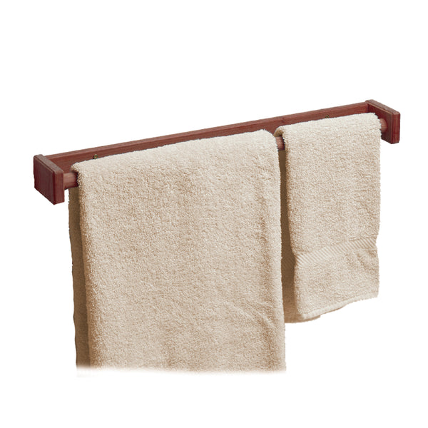"Whitecap Teak Long Towel Rack - 22"" [62336]"