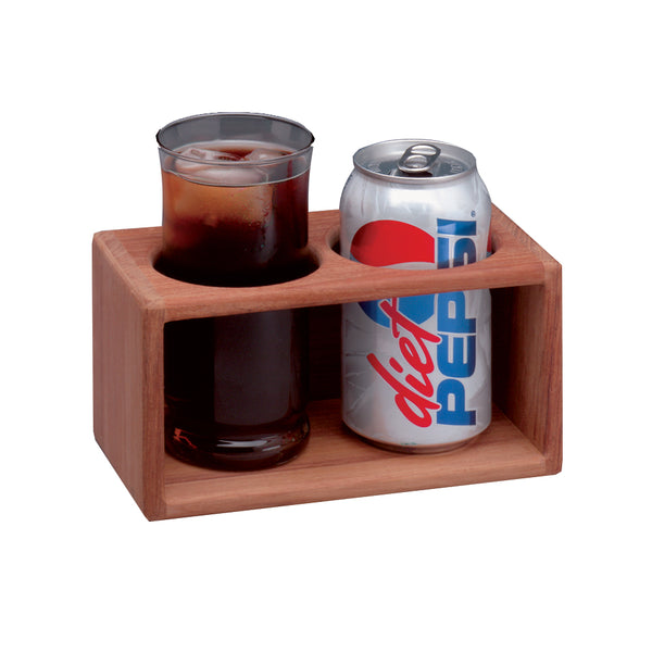 Whitecap Teak 2-Drink Rack [62610]