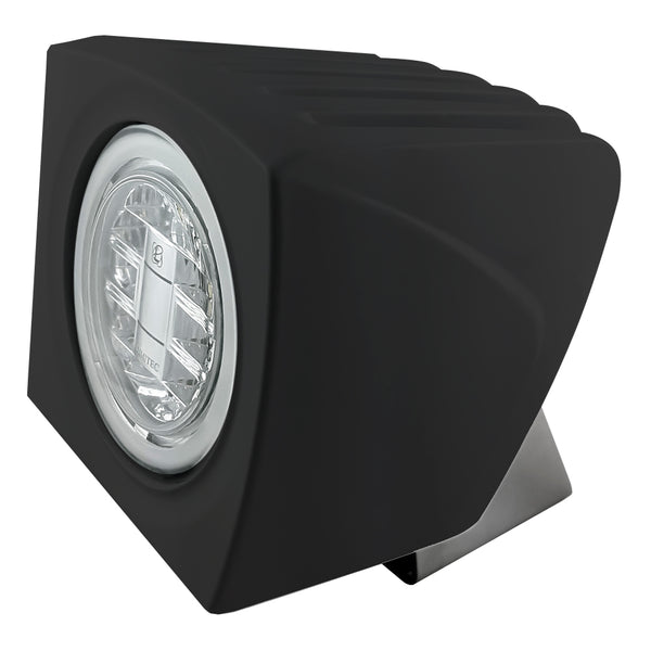 Lumitec Cayman Flood Light - Black Finish - Super White Dimming [101261]