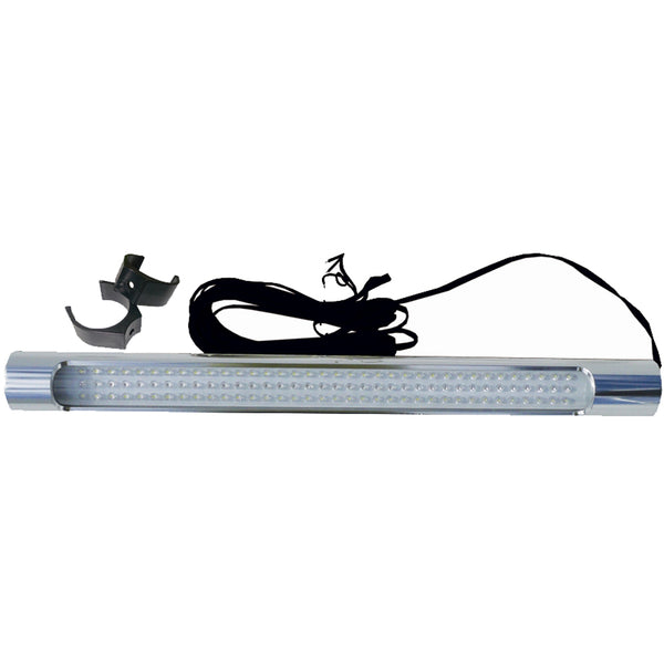 Taco T-Top Tube Light w-Aluminum Housing - White-Red LEDs [F38-2050R-1]