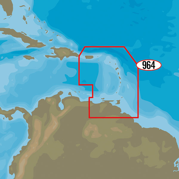 C-MAP 4D NA-D964 - Puerto Rico to Rio Orinoco Local [NA-D964]