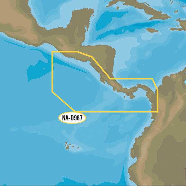 C-MAP 4D NA-D967 - Panama to Guatemala Local [NA-D967]