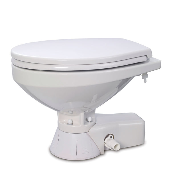 Jabsco Quiet Flush Raw Water Toilet - Regular Bowl - 24V [37245-4094]