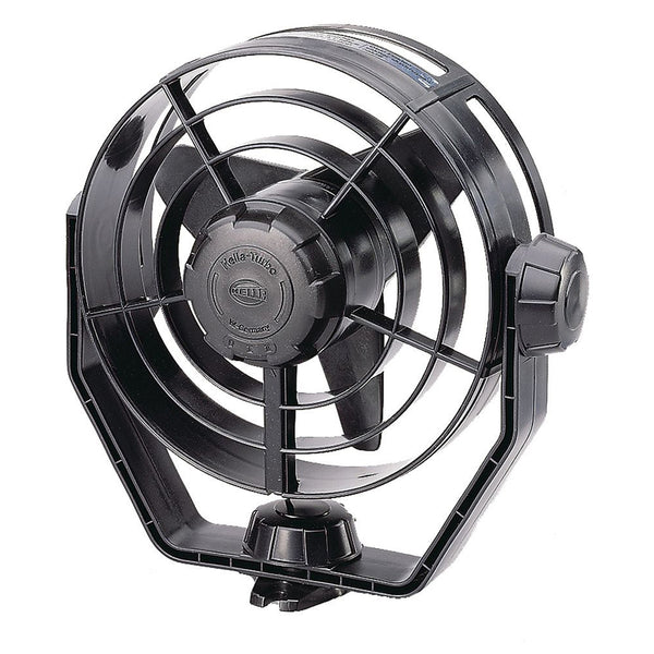 Hella Marine 2-Speed Turbo Fan - 12V - Black [003361002]