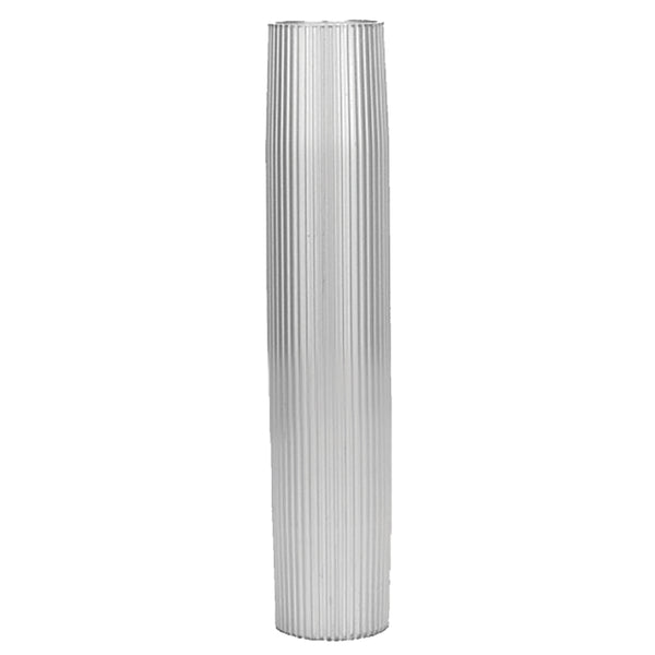 "TACO Aluminum Ribbed Table Pedestal - 2-3-8"" O.D. - 30-3-4"" Length [Z60-7288VEL30.75-2]"