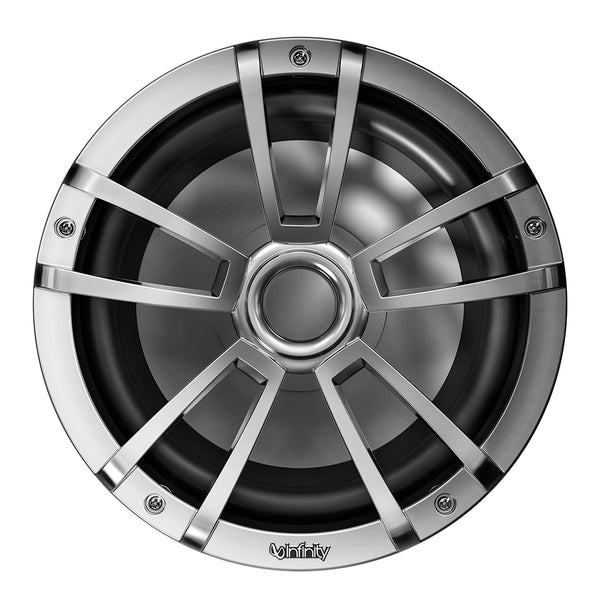 "Infinity 1022MLT 10"" Multi-Element Marine Subwoofer w-Grille - Titanium [INF1022MLT]"