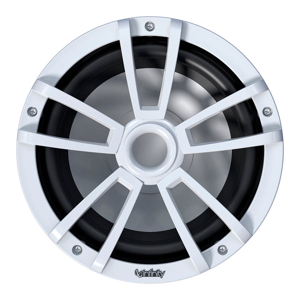 "Infinity 1022MLW 10"" Multi-Element Marine Subwoofer w-Grille - White [INF1022MLW]"