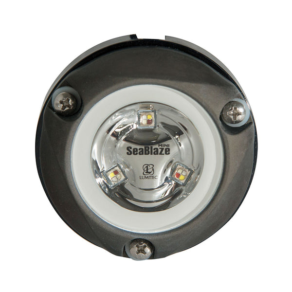 Lumitec Zambezi Mini Surface Mount Underwater Light - Blue - Non-Dimming [101457]