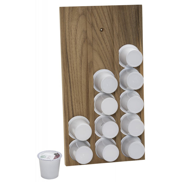Whitecap Teak Brew Cup-K-Cup Holder [63407]